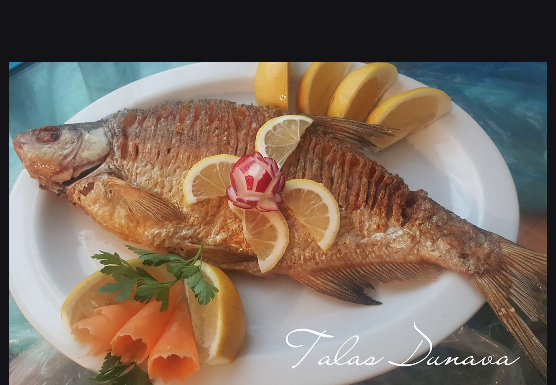 Przena i pečena riba